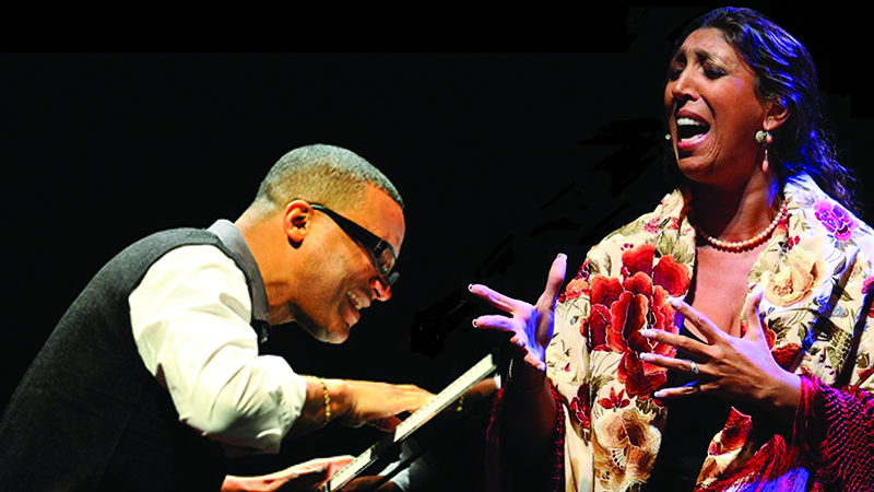 Cuban pianist Gonzalo Rubalcaba and Spanish vocalist Esperanza Fernández meet in Oh Vida!