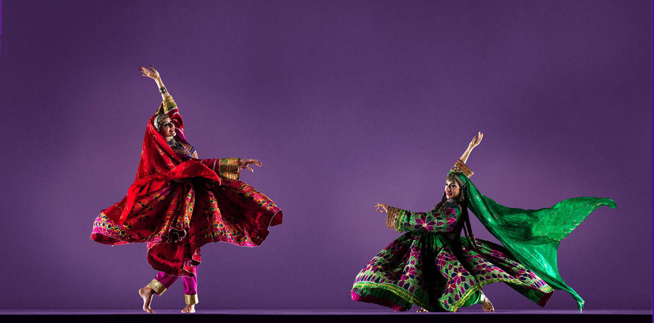 Ballet Afsaneh performance at the San Francisco Ethnic Dance Festival. The company's founding artistic director Sharlyn Sawyer appears as part of Golden Thread Productions' annual International Women's Day Celebration