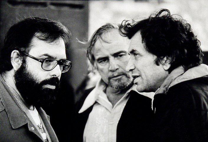 Bill Graham, Marlon Brando, and Francis Ford Coppola