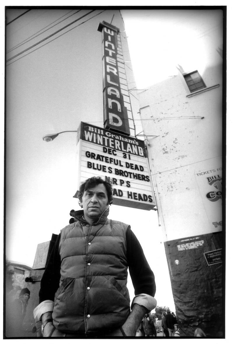 Closing Winterland, December 31, 1978.