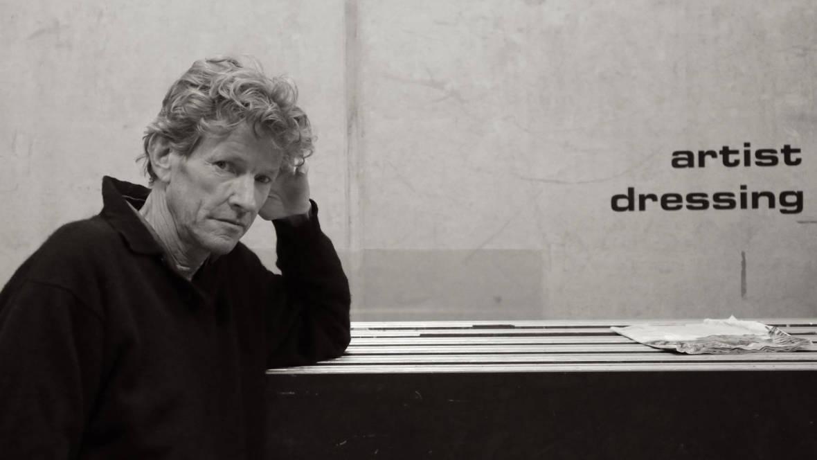 Bruce Geduldig, backstage in Brussels