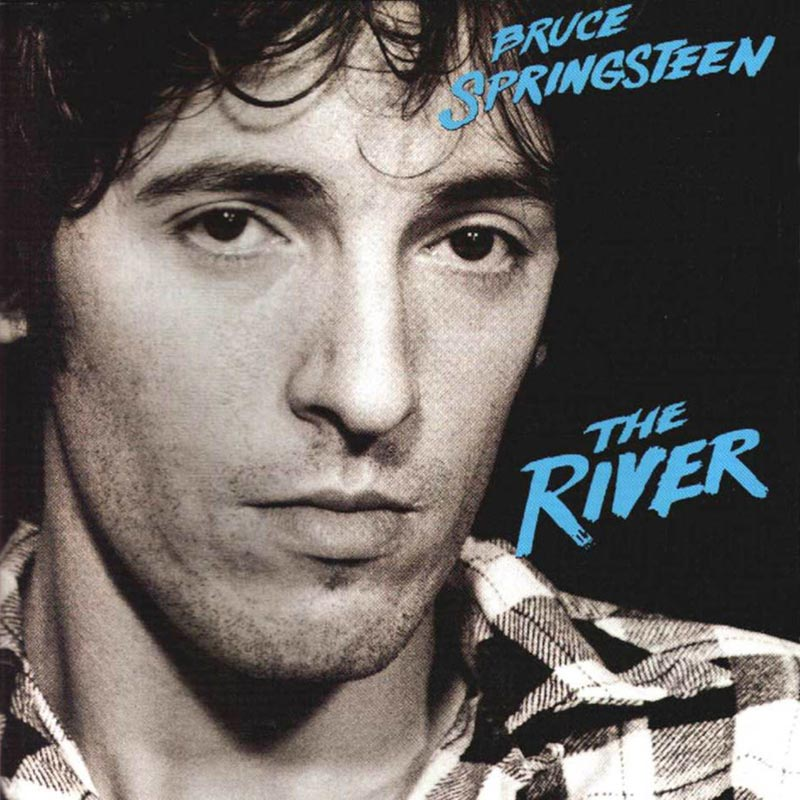 The cover of Bruce Springsteen's 1980 album 'The River,' which was played in its entirety at the Oracle Arena on March 13, 2016.