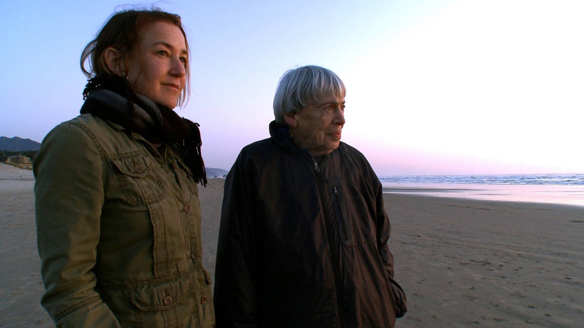 'Worlds of Ursula K Le Guin' director Arwen Curry and SciFi author Le Guin