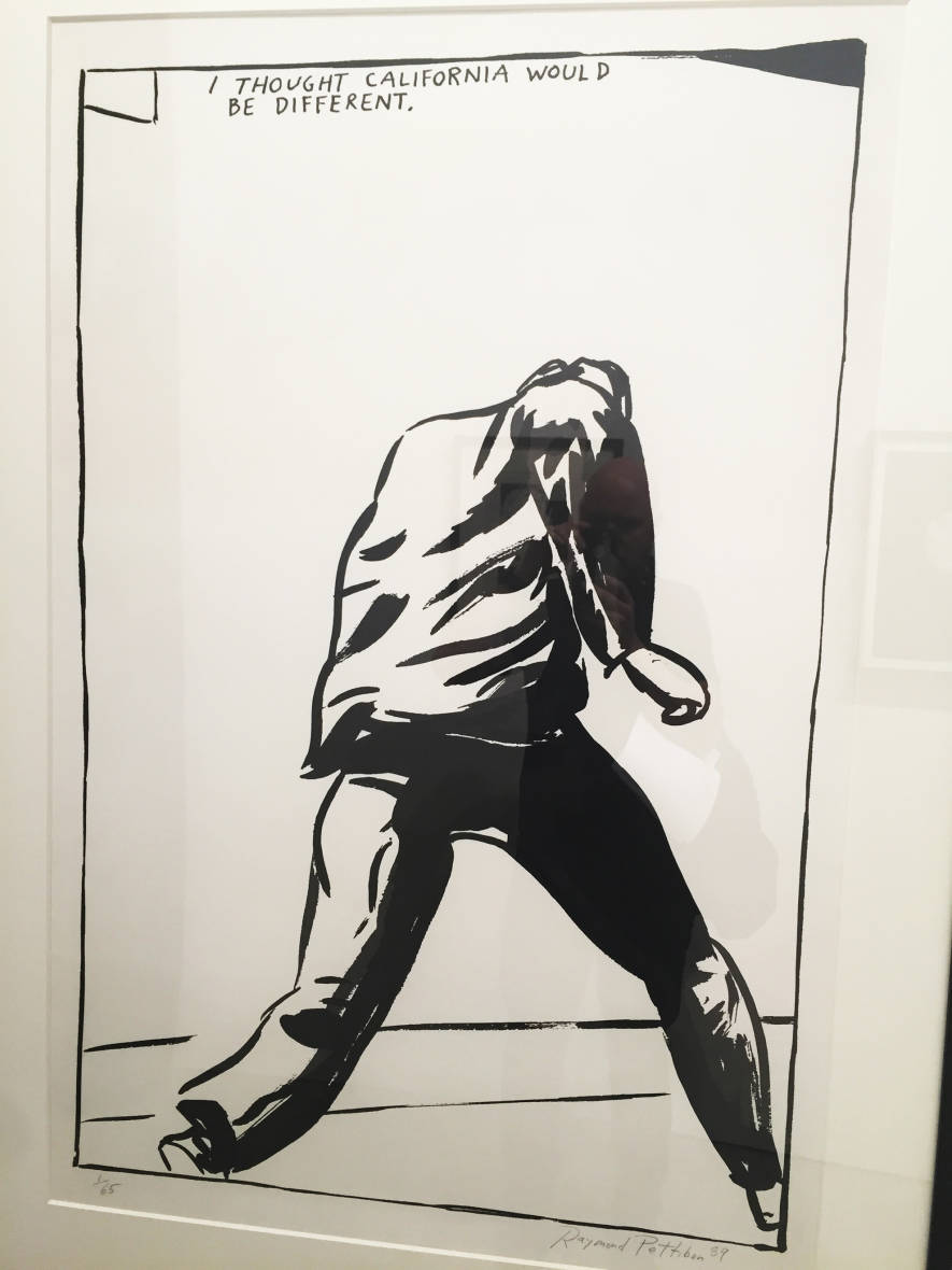Raymond Pettibon, 'Untitled' (I thought California would be different), 1989