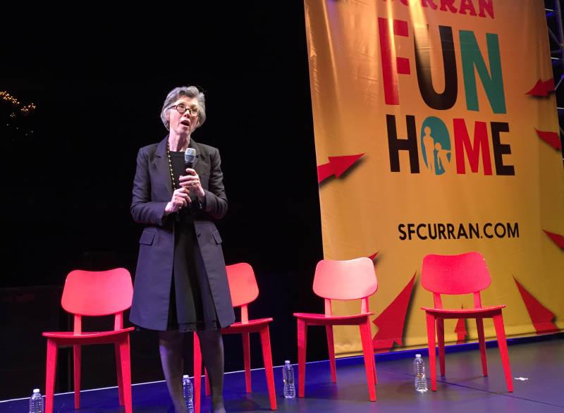 Curran Theatre owner Carol Shorenstein Hays
