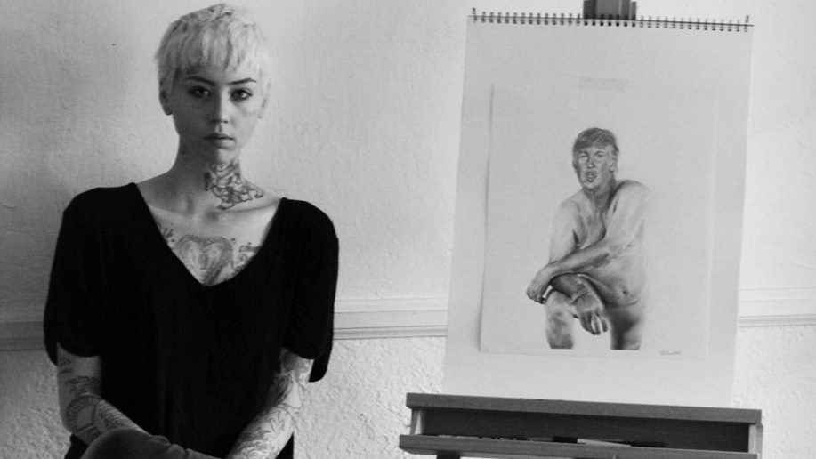 License to Illma: Naked Trump Portrait Gets Artist Banned