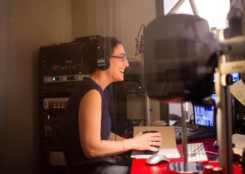 Koenig working in the studio