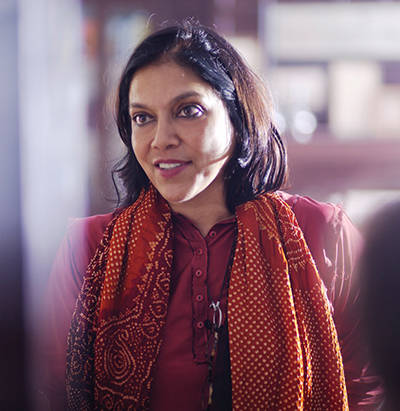 Mira Nair, recipient of the Irving M. Levin Directing Award.
