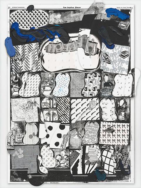 Laura Owens, 'Untitled,' 2015.