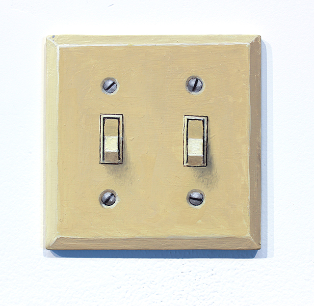 Doug Padgett, 'Untitled (double light switch I),' 2013.