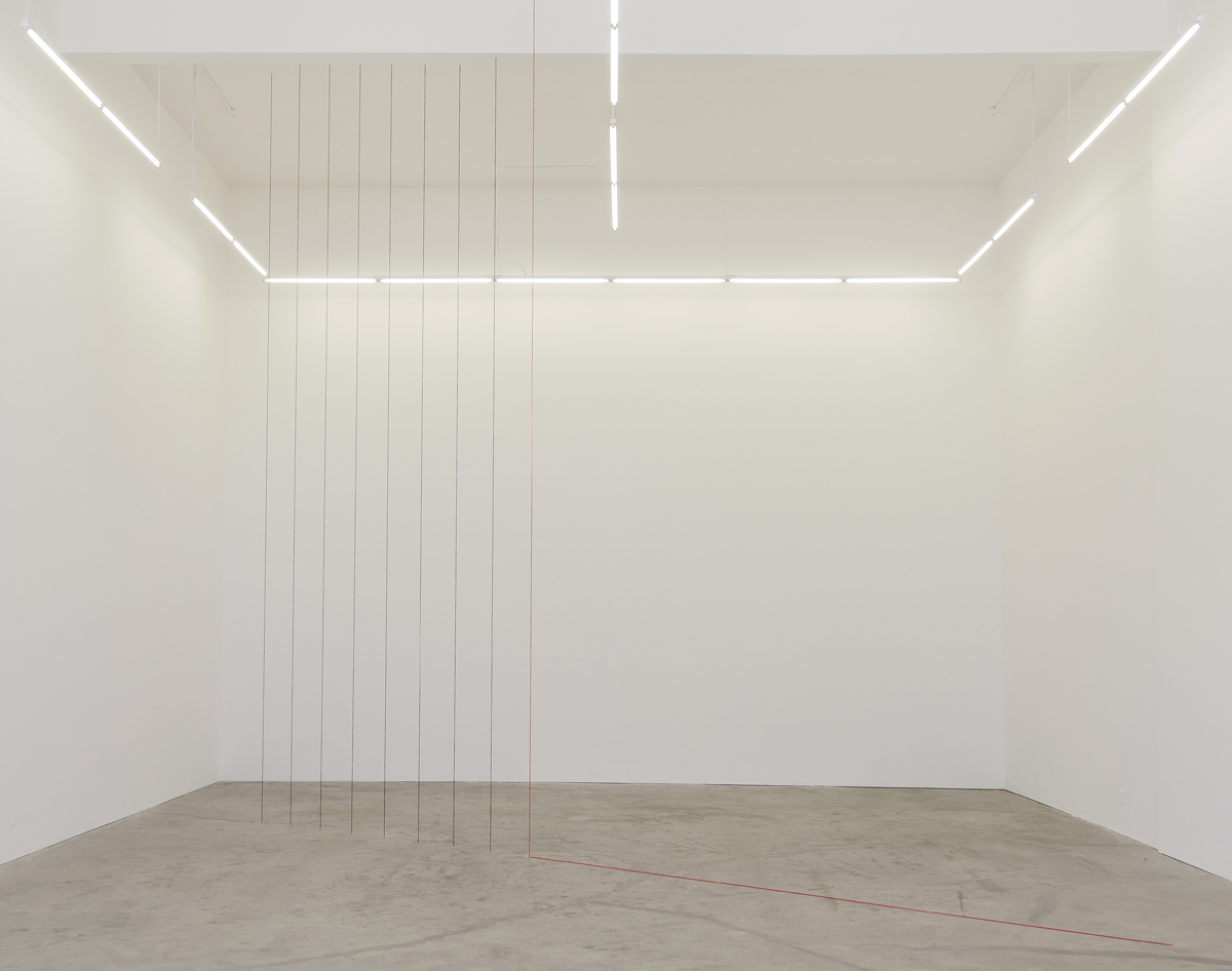 Fred Sandback, 'Untitled (Sculptural Study, Cornered Construction),' 1984/2013.