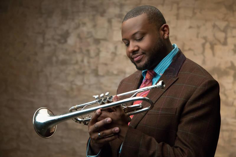 Trumpeter Sean Jones plays music by Miles Davis
