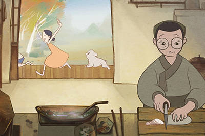 "A scene from Joan Chung's 'Mother,' playing in the ""Shorts 5: Family Films"" program."