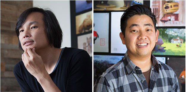 "Daisuke ""Dice"" Tsutsumi and Robert Kondo (L-R) of Tonko House."