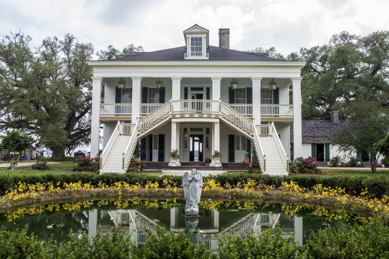 'Underground' was filmed in part at a historic sugarcane plantation in Louisiana.
