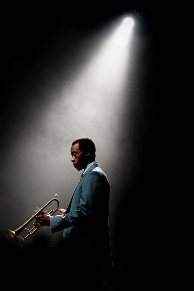Don Cheadle as Miles Davis in the late 1950s, from 'Miles Ahead.'