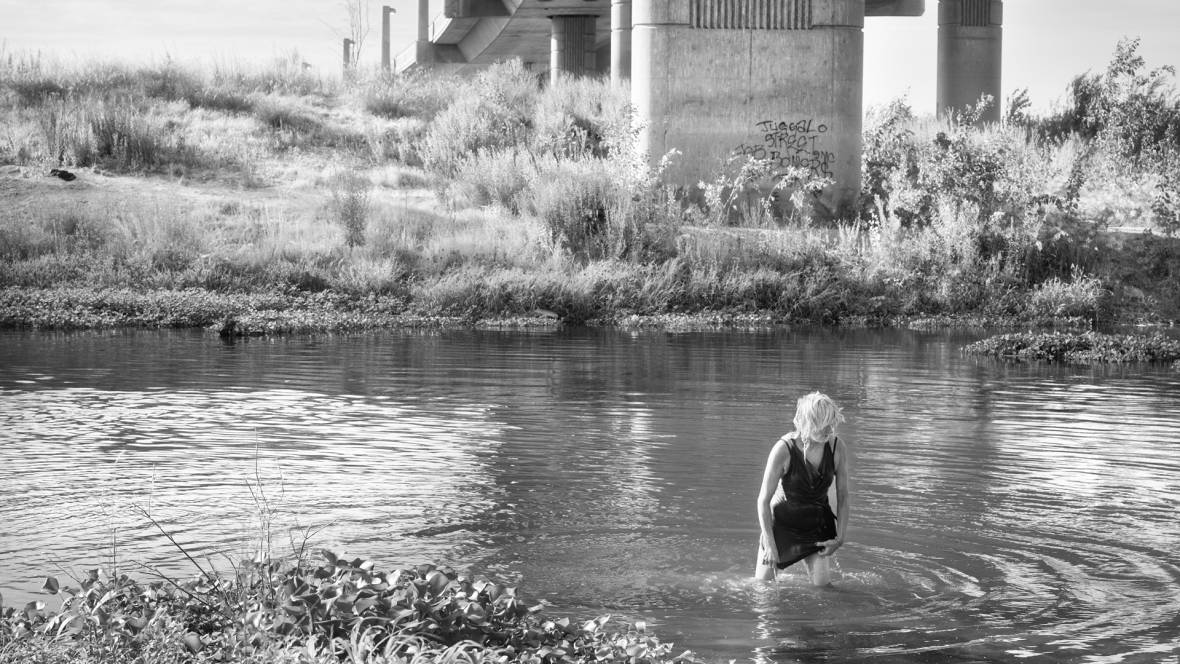 Katy Grannan, 'Deb Soaking Wet, Tuolumne River, Modesto, CA,' from the series 'The Nine,' 2013.