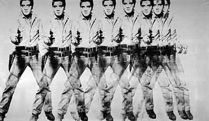 "Andy Warhol's ""Eight Elvises"""