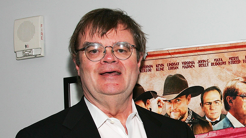 Radio host and actor Garrison Keillor at the 2006 premiere of 'A Prairie Home Companion' in New York City.