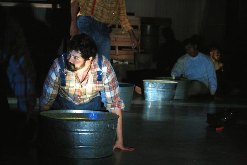 Francisco as Noah Joad in Unbutu Theater Project's 'The Grapes of Wrath.' Photo: Courtesy of the Company.
