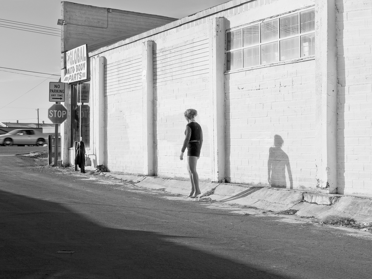 Katy Grannan, 'Inessa Waits near South 9th Street, Modesto, CA,' from the series 'The Nine,' 2012.