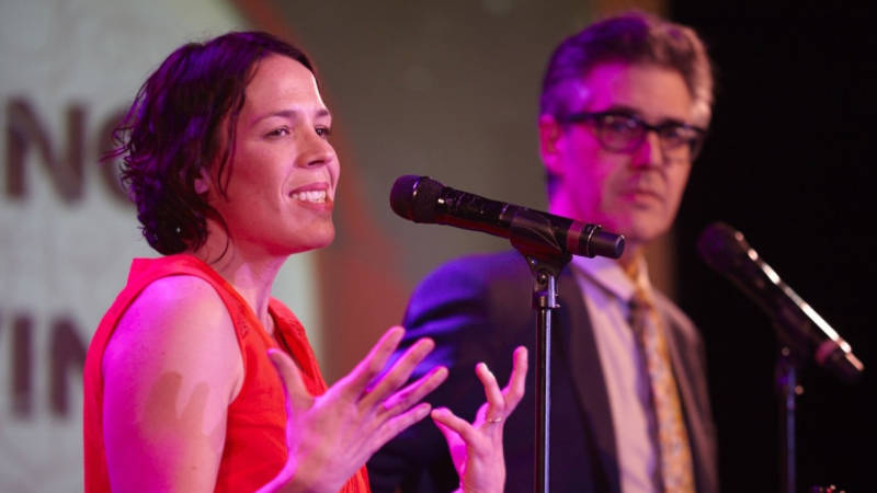 Julie Snyder and Ira Glass make their pitch to advertisers