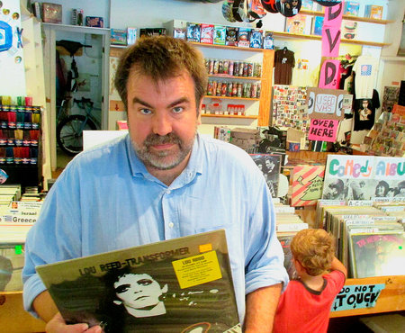 'Old Records Never Die' author Eric Spitznagel.
