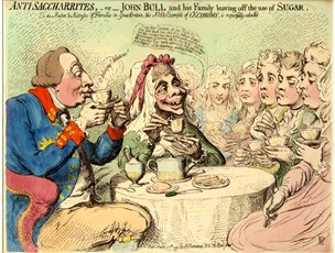 The Anti-Saccharrites by James Gillray