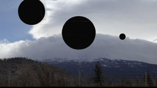Yin-Ju Chen, Video still from the multimedia installation 'Extrastellar Evaluations,' 2016.
