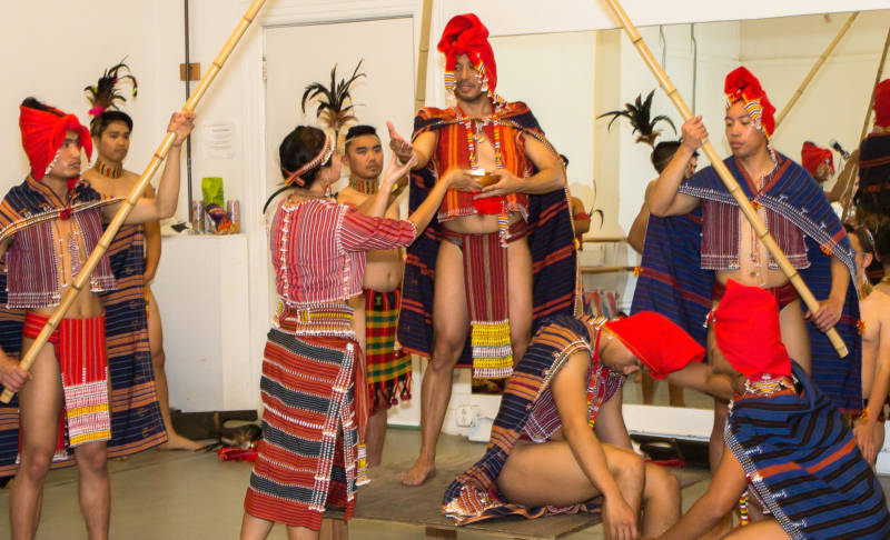 Parangal Dance Company in rehearsal for the 2016 San Francisco Ethnic Dance Festival (Photo: Arnel De Leon)
