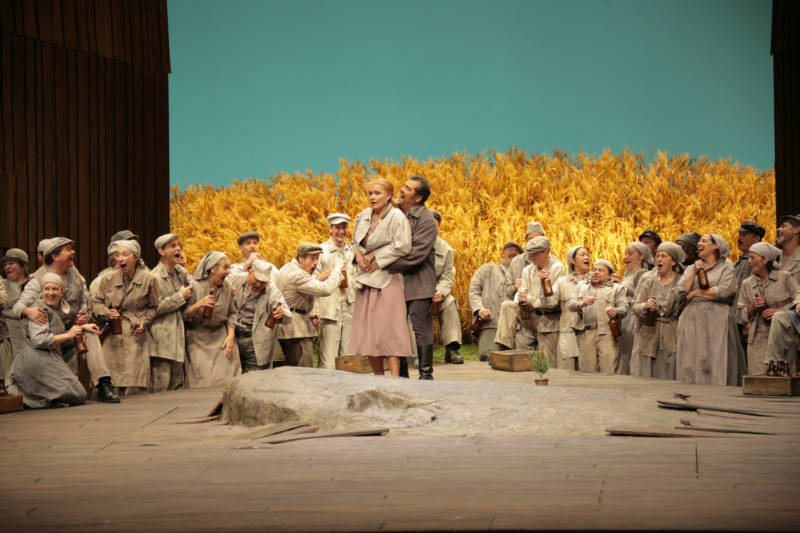 Karita Matilla in Jenufa at the Metropolitan Opera