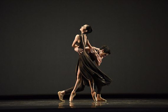 Norika Matsuyama and Steven Morse in Myles Thatcher's 'Manifesto' at San Francisco Ballet (Photo: Erik Tomasson)