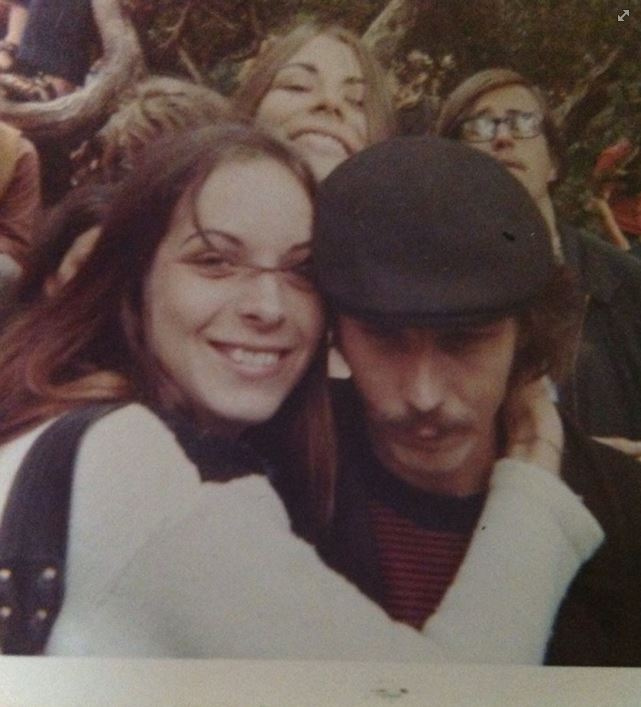 "Cheri Mendieta, via Facebook: ""1967 free concert Golden Gate park, sisterly love with brother Bill Rook."""