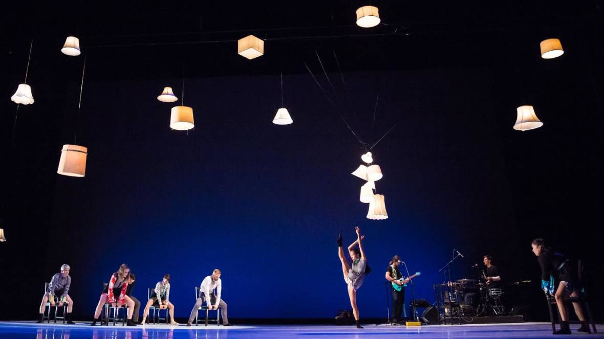 Post: Ballet in Robert Dekkers' 'Do Be', with The Living Earth Show
