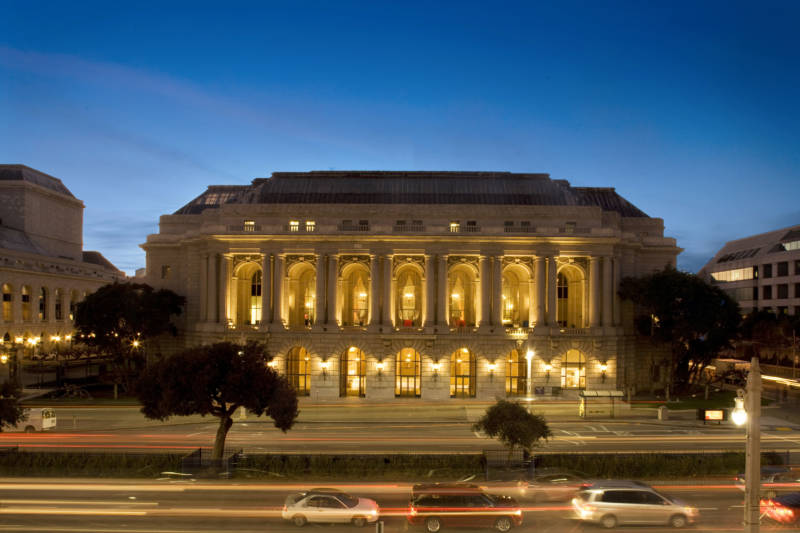 Herbst Theatre, where SF Performances mounts most of its events