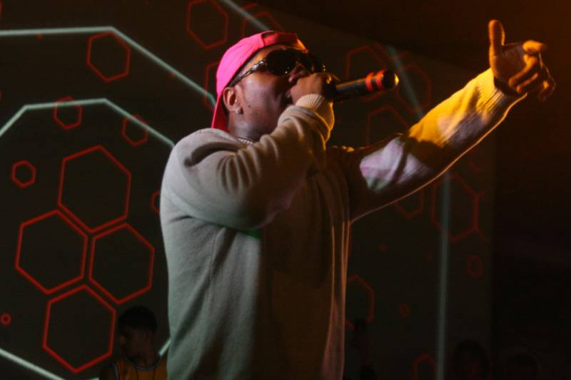 Lil' B performs at Feels V in Oakland, May 28, 2016.