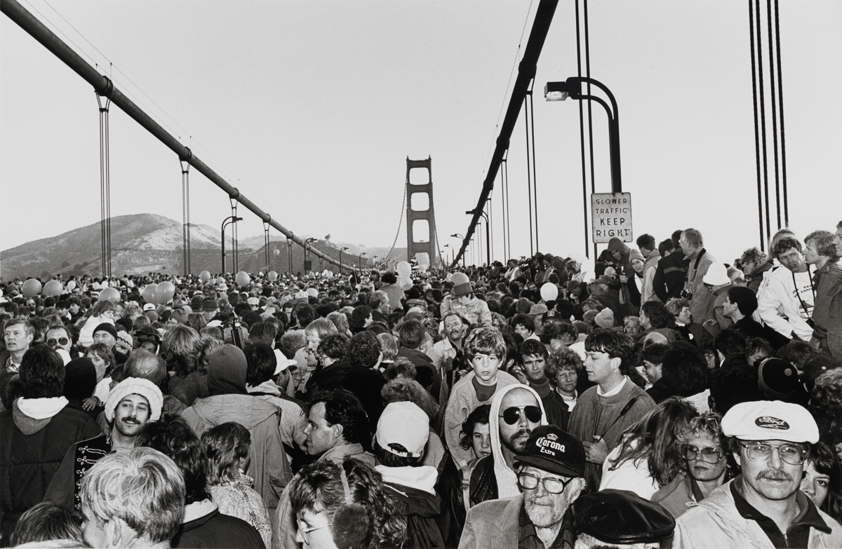 Michael Jang, 'Golden Gate Bridge Fiftieth Anniversary,' 1987. Promised gift of the Woodrow Jang Family.