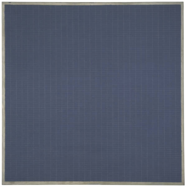 Agnes Martin, 'Night Sea',1963; The Doris and Donald Fisher Collection at the San Francisco Museum of Modern Art