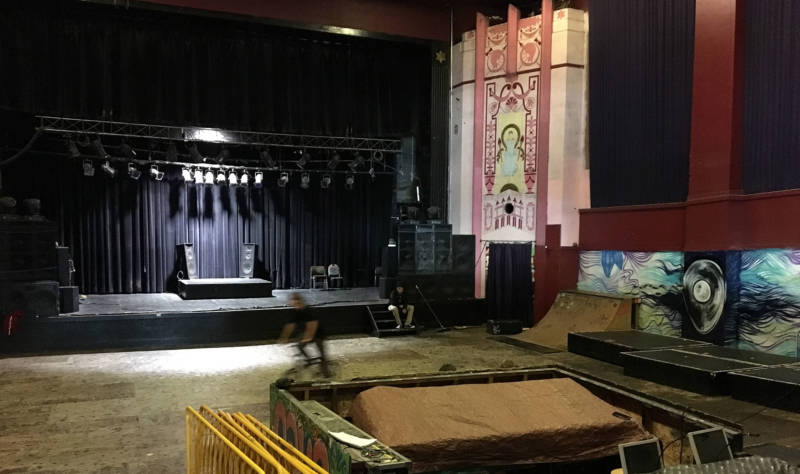 The inside of the Phoenix Theater today.