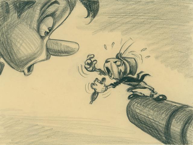 Disney Studio Artist, 'Pinocchio' visual development.