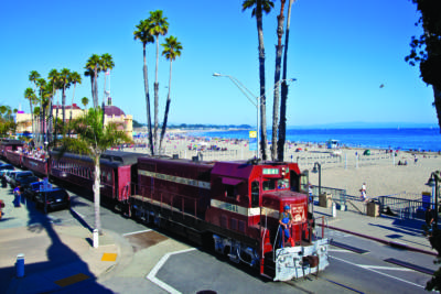 Roaring Camp Beach Train