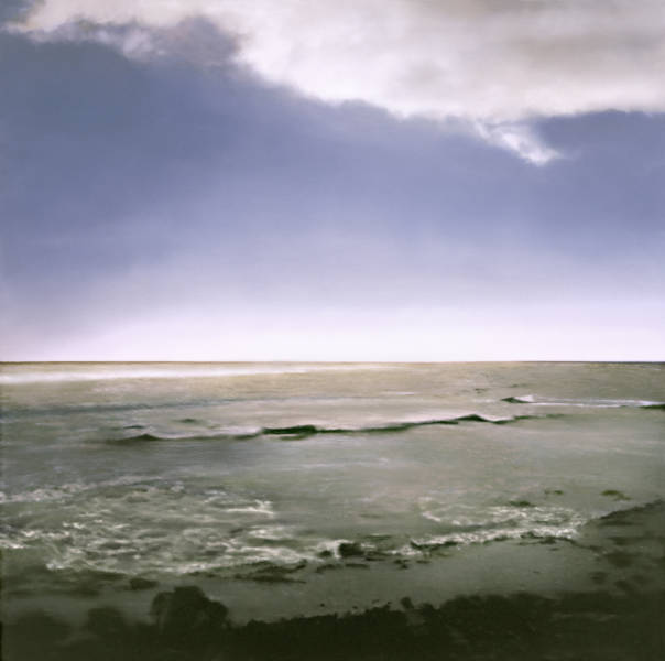 Gerhard Richter, 'Seestück' (Seascape), 1998; The Doris and Donald Fisher Collection at the San Francisco Museum of Modern Art