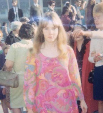 """Susan Sarra, via Facebook: """"My high school graduation, 1967"""""""