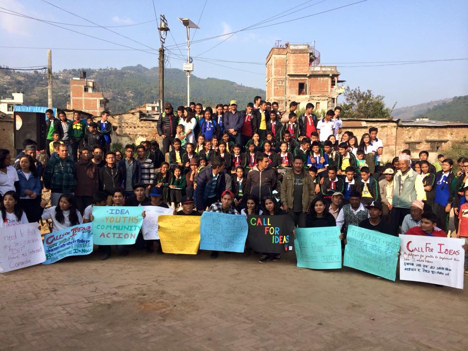 Youth in Action coordinates groups of young volunteers in Nepal.