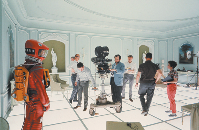 Stanley Kubrick during the production of '2001: A Space Odyssey' (GB/United States; 1965–68).
