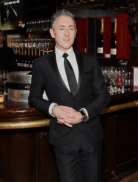 Alan Cumming attends the after party for the 'Spectre' pre-release screening in 2015.