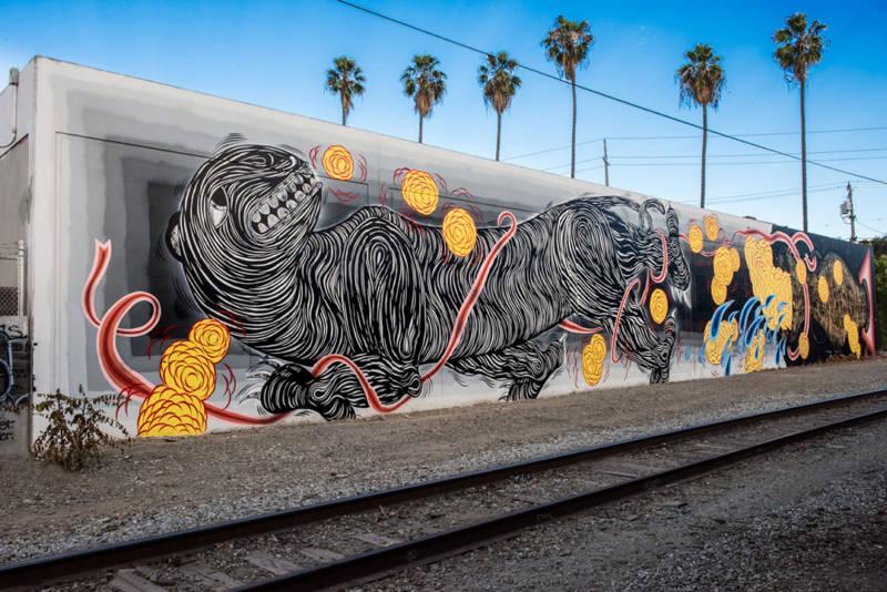 Mural by Andrew Schoultz