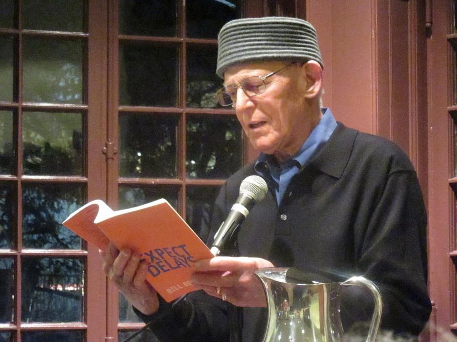 Bill Berkson reading from 'Expect Delays' at City Lights.