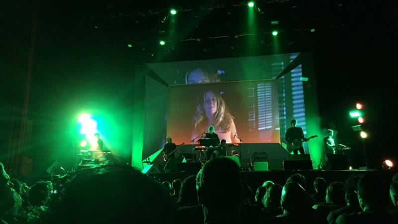 John Carpenter performs themes from 'Halloween' at the Fox Theater in Oakland on June 17, 2016.