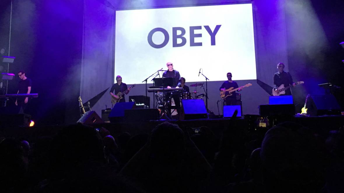John Carpenter performs themes from 'They Live' at the Fox Theater in Oakland on June 17, 2016. Brian Henderson